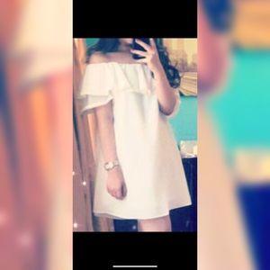 Dresses & Skirts - Off shoulder fancy/graduation dress, runs big